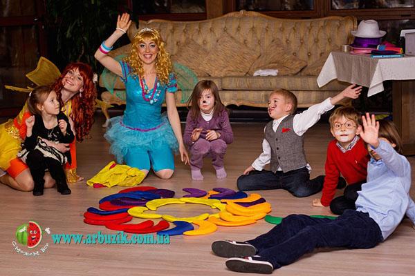 детский день рождения, организация праздников в Киеве