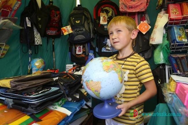 ребенок готовится в школу