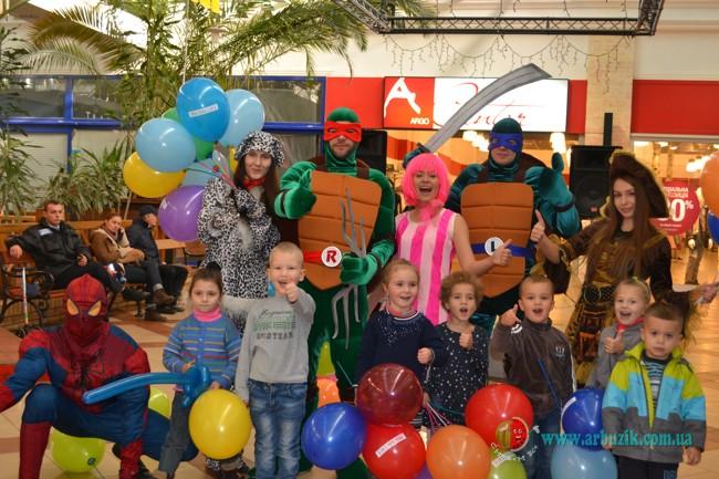 черепашки нинзя, ниндзя костюмы праздник детям