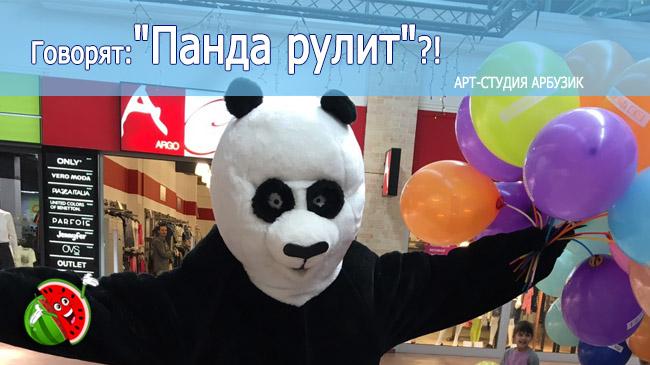 панда рулит